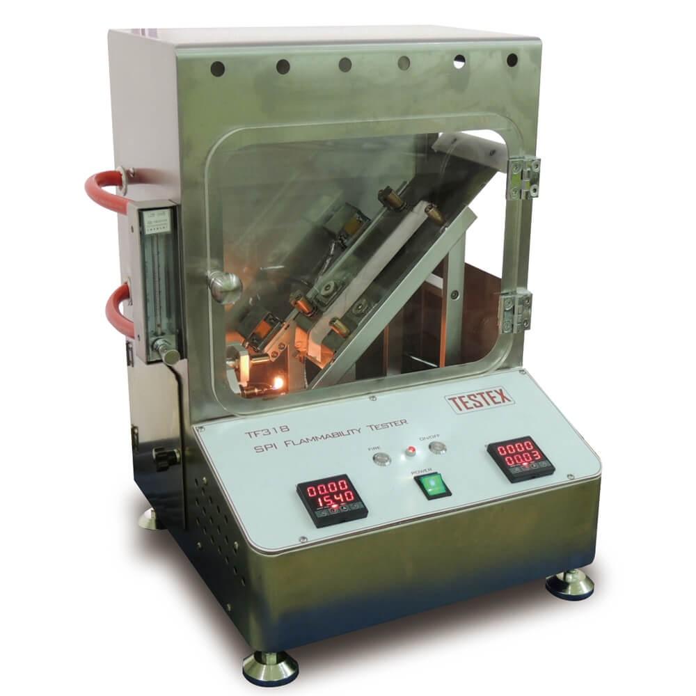 SPI Flammability Tester (Vinyl Material)